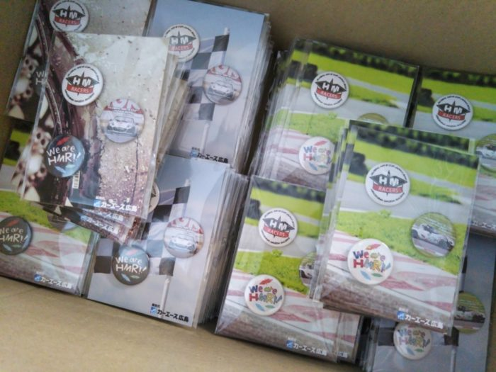株式会社HAL 缶バッジ製作実績 HMRacers缶バッジ