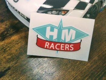 株式会社HAL ステッカー製作実績 HMRacers様